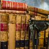 Old books in antique shop, Bruxelles