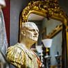Decorative interior sculpture in antique shop, Bruxelles