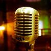 Retro microphone view