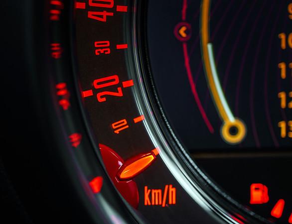 Speed control dashboard
