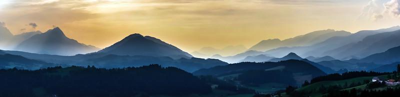 Shtiria, Austria, panoramic view