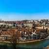 Bern, Switzerland. Wide-angle HD-quality panoramic view.