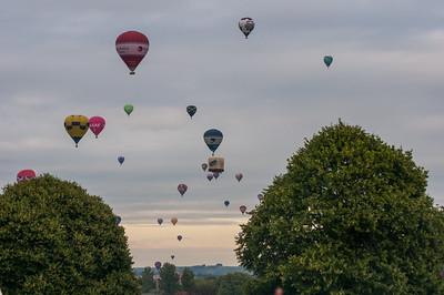 Bristol Balloon Festival 2013-14