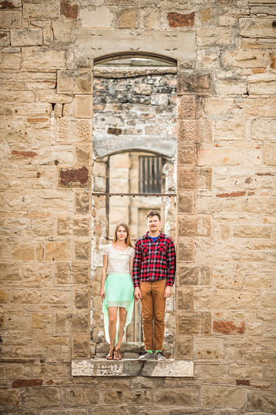 Sara and Dylan, Old Idaho State Penitentiary -- Boise, ID