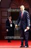 19-04-2009 - Barack Obama , presidente de los Estados Unidos a su llegada a la realizacion de la foto oficial en la V cumbre de las americas , realizada en Puerto España , Trinidad & Tobago / Barack Obama am Treffen der Präsidenten Lateinamerikas 2009 © Juan Carlos Hernandez/LATINPHOTO.org