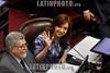 Argentina : Cristina Fernandez de Kirchner , senadora nacional por Unidad Ciudadana en el recinto de la camara de Senadores / Argentinien : Senatorin Cristina Fernandez de Kirchner © Nicolás Stulberg/LATINPHOTO.org