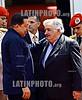 Venezuela : January 27 , 2011 Jose Mujica president of Uruguay on an official visit to the president of Venezuela Hugo Chavez in the Miraflores palace in Caracas / Venezuela : Der uruguayische Präsident José Alberto Mujica Cordano in Caracas © Juan Carlos Hernandez/LATINPHOTO.org