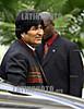 19-04-2009 - Evo Morales , presidente de Bolivia a su llegada a la realizacion de la foto oficial en la V cumbre de las americas , realizada en Puerto España , Trinidad & Tobago / Evo Morales - Bolivien - am Treffen der Präsidenten Lateinamerikas 2009 © Juan Carlos Hernandez/LATINPHOTO.org