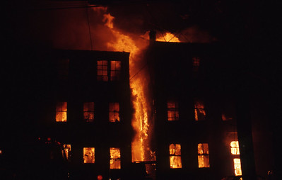 5/24/1975 - BOSTON, MASS - 5TH ALARM 220-228 EVERETT ST