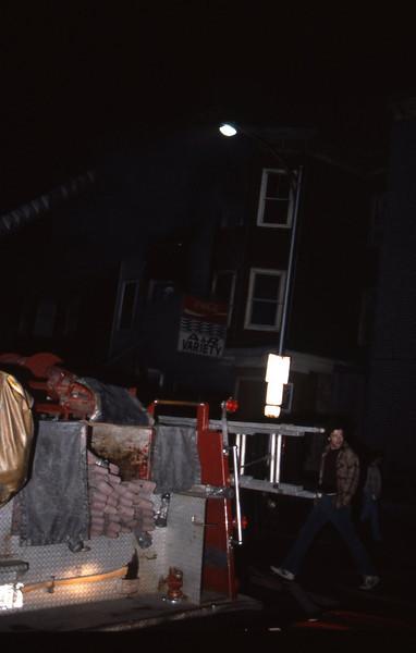 5/4/1981 - CAMBRIDGE, MASS - 5TH ALARM 439 PORTLAND ST