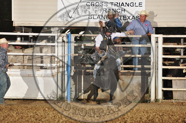 Tiny West Bull Riding 2011