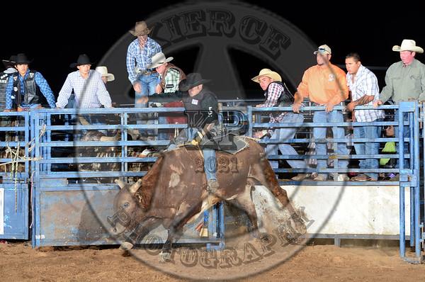 Jim Hogg County Fair Bull Riding 3-9-13