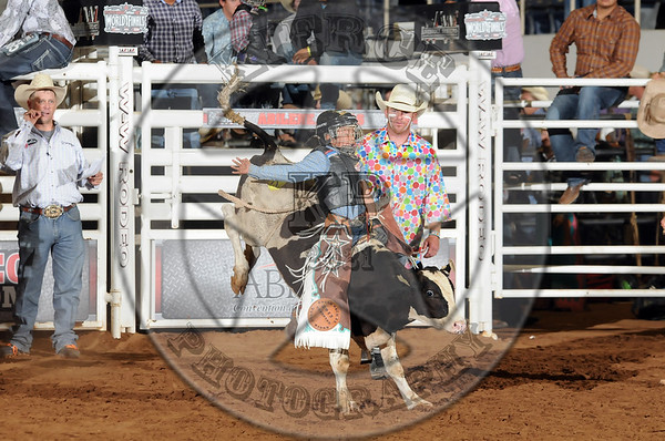 YOUTH BULL RIDING WORLD FINALS 2014