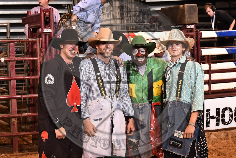 BULL FIGHTERS GROUP PHOTO-CPRA-CP-SN- (115)