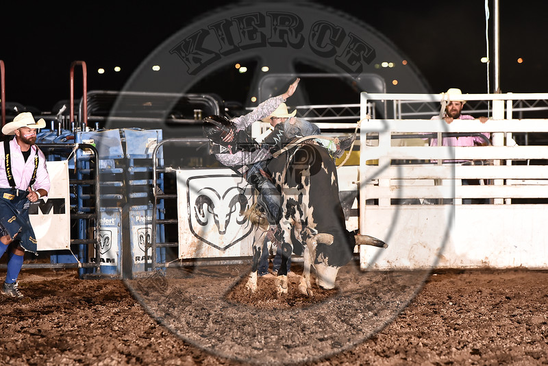 TRAVIS WIMBERLY-92 PAINTED WARRIOR-PRCA-SF-FR- (96)