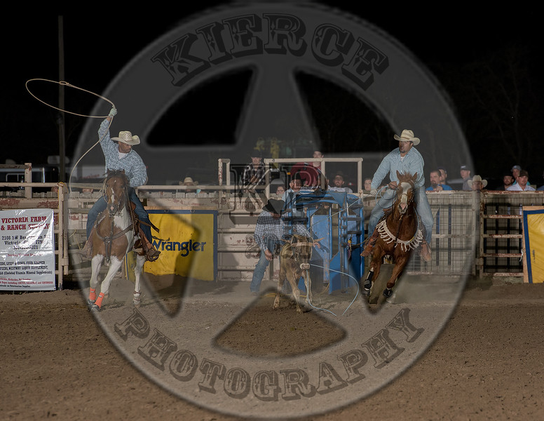COUNTY TEAM ROPING TEAM # 4-PRCA-GD-FR- (22)