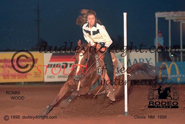5157-9ac romniWOOD HPJRA Finals ClovisNM 1998 4x6