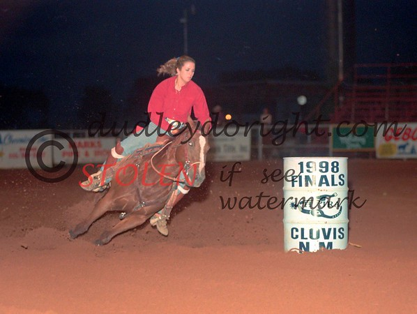 5165-23ac romniWOOD HPJRA Finals ClovisNM 1998
