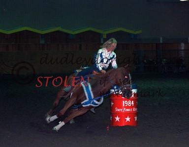 T6795-16c  shawnSORENSON TYRA Finals KingsvilleTx 1984