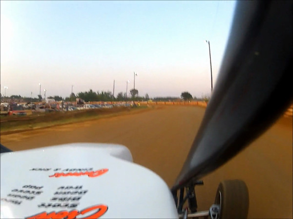Heat Race In-Car Cam With #78 Nick Wean