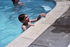 Tony at the pool