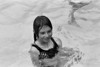 Allison in the pool