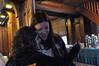 Erin and Tamar share a hug