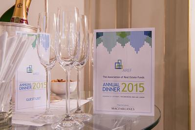 AREF Annual Dinner 2015