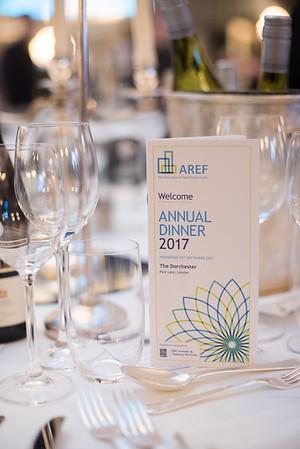 AREF Annual Dinner & Awards  2017
