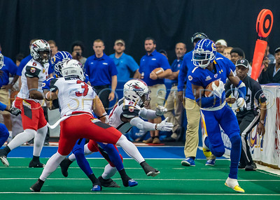 JACKSONVILLE SHARKS at TAMPA BAY STORM ARENA FOOTBALL MAY 1ST 2016