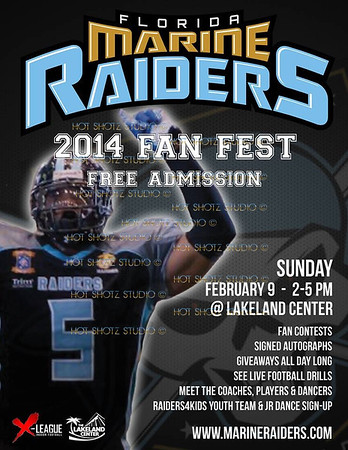 FLORIDA MARINE RAIDERS FAN FEST 2014