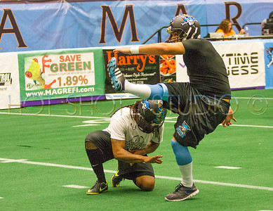Florida Marine Raiders vs Alabama Outlawz April 2014