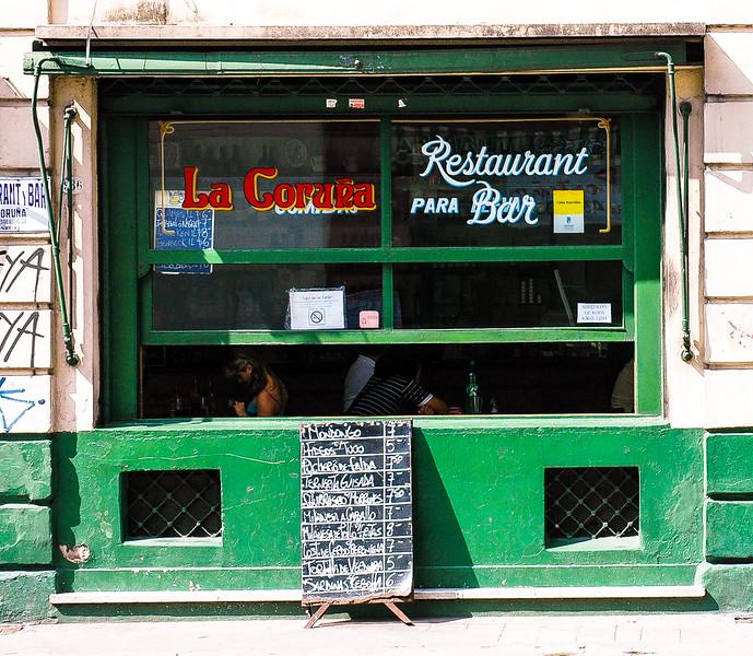 La Coruña Restaurant & Bar<br /> San Telmo, Buenos Aires