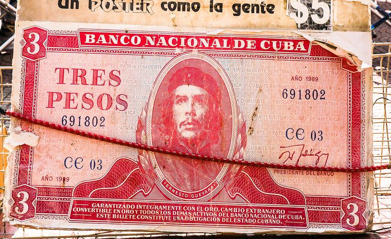 Ché Guevera Cuban Peso<br /> Plaza Derego Market, Buenos Aires