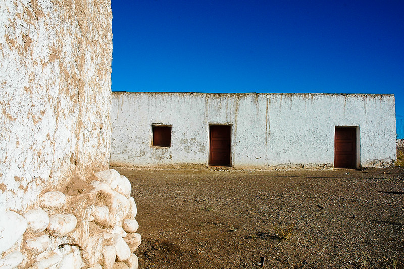 Bovedas De Uspallata (built in the 18th Century to process gold and silver for the Spaniards)<br /> Uspallata, The Andes