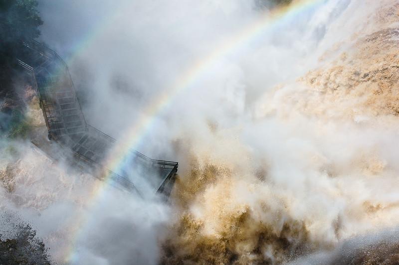 Observation Deck<br /> Iguazu Falls<br /> Paraná