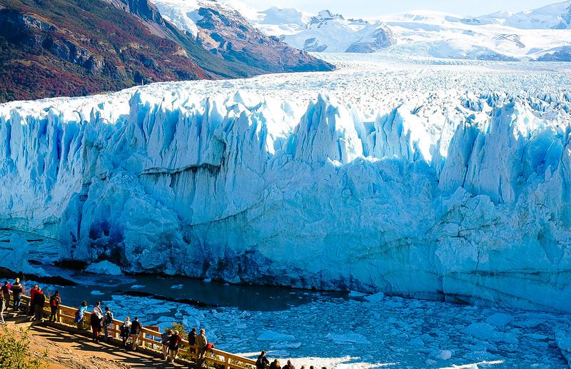Perito Moreno Glacier<br /> Los Glaciares National Park <br /> Santa Cruz