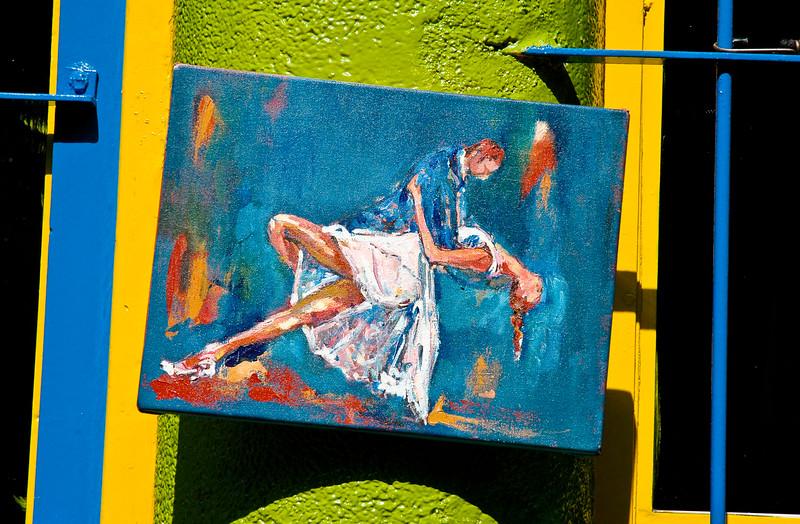 Tango Art<br /> La Boca, Buenos Aires