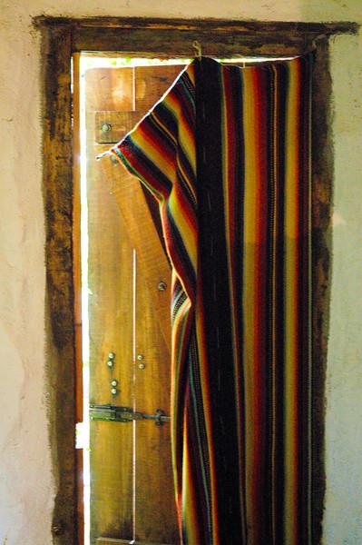 Doorway<br /> La Casa de Inés y Juan<br /> San Ignacio