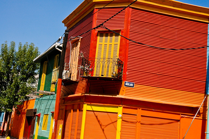 Colorful Homes of La Boca<br /> Buenos Aires