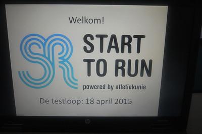 Start to Run 5 km testloop voorjaar 2015