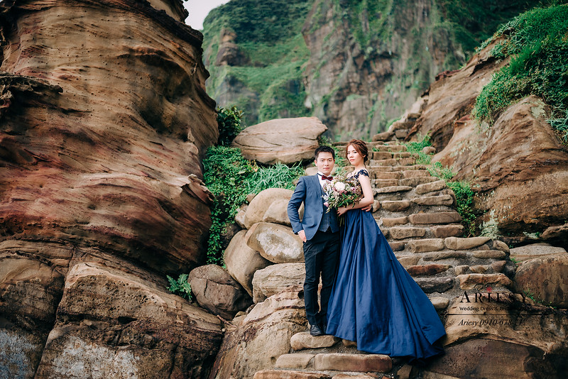 ARIESY婚紗禮服,大嘴攝影包套,新莊愛瑞思新娘秘書團隊造型,新莊禮服婚紗出租,婚紗造型新秘