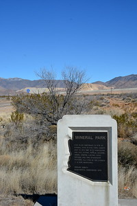 Mineral Park Historic Marker - Hwy. 63 near Chloride, AZ