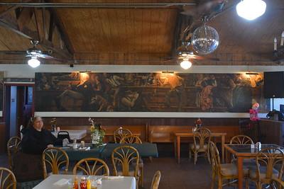 Mural in Yesterday's - Chloride, AZ  1-29-17