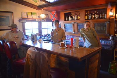 Bar in Yesterday's - Chloride, AZ  1-29-17