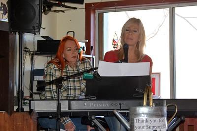 Moonshadow & Janet at Yesterdays, Chloride, AZ  1-29-17