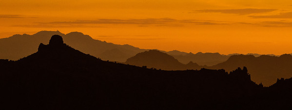 sunset silhouette Mount Lemmon Tucson AZ southeast Arizona trip July 2021 IMGC0240