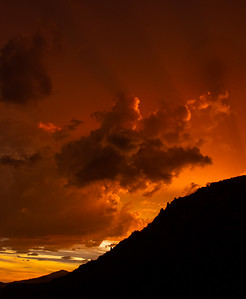 storm clouds sunset Mount Lemmon Tucson AZ southeast Arizona trip July 2021 IMGC0254