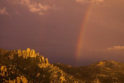 Rainbow double Mount Lemmon Tucson AZ southeast Arizona trip July 2021 IMGC0215