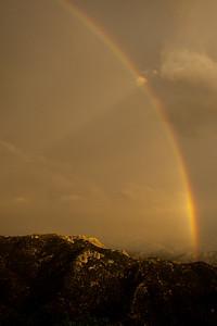Rainbow double Mount Lemmon Tucson AZ southeast Arizona trip July 2021 IMGC0224
